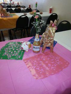 Mexican theme.. centerpieces