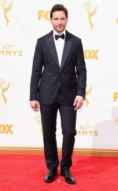 Peter Facinelli from 2015 Emmys: Red Carpet Arrivals  In Armani Prive