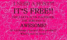 I need a Host and you get free jewelry! Paparazzi Display, Paparazzi Jewelry Displays, Paparazzi Accessories, Paparazzi Jewelry Images, Paparazzi Photos, Jewelry Tags, Jewelry Quotes, Paparazzi Logo, Hostess Wanted