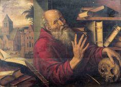 Jan Massys (1509-1575), Saint Jérôme dans son atelier, panneau de chêne, 72 x 99,5 cm. Adjugé : 430 500 € Villefranche-sur-Saône, samedi 15 octobre. Guillaumot-Richard OVV. Cabinet Turquin.
