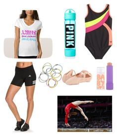 """Gymnastics"" by mary-mara on Polyvore featuring adidas, Bloch, Maybelline, Monki, women's clothing, women's fashion, women, female, woman and misses"