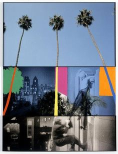 John Baldessari : Overlap Series: Palms (with Cityscape) and Climbers, 2000