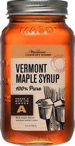 Maple Syrup In Mason Jar