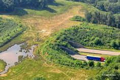 Take a look at this stunning ecoduct in Kikbeek, Belgium.  Picture: Marcel Bex fotografie