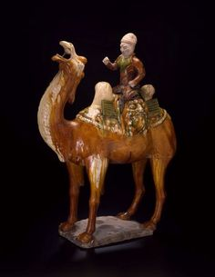 Here is a resource packet focused on this ceramic sculpture of a camel and rider. Lesson includes background information and activity ideas for studying the Silk Road. Terracota, Sculptures, Lion Sculpture, Historical Art, Love Illustration, Art Institute Of Chicago, Silk Road, Land Art, Glazes For Pottery