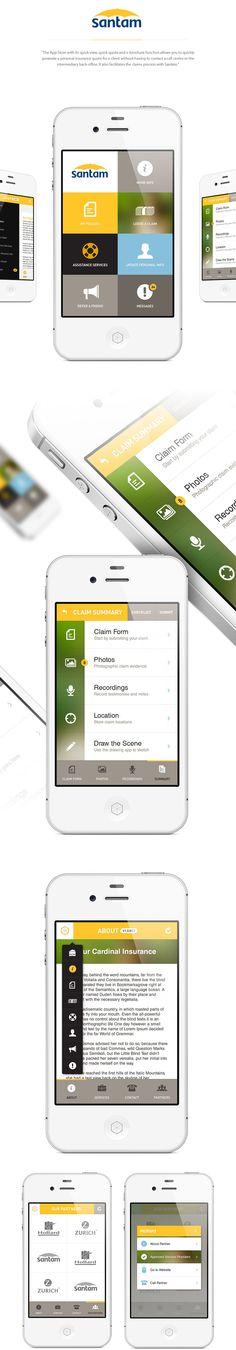 Santam Broker App #App #UX