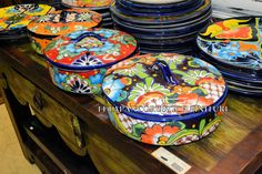 talavera tortilla warmer (tortillero)
