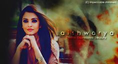 creation on aishwarya bachchan! She looks so stunning in there!!
