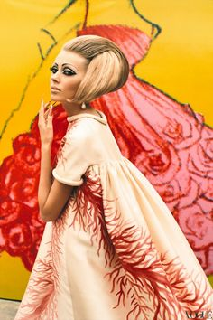 Valentino dress from S/S, 1969 by Ruven Affanador