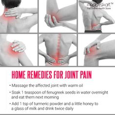 Follow these simple steps and get relief from the joint pains.. #Medisys #FitTips for #JointPain