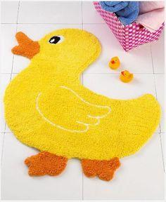 Rubber Ducky Bathroom, Duck Bathroom, Bathroom Kids, Bathroom Mat, Bathroom Stuff, Kids Bathroom Accessories, Shops, Bath Rugs, Kids Rugs