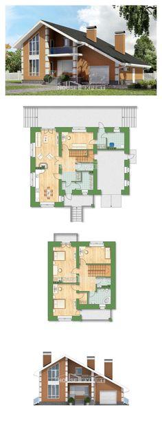 Ev villa projesi 190-006-R | House Expert