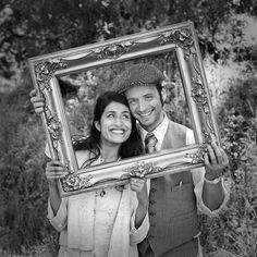 San Francisco engagement session  #picture frame