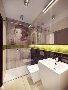Mieszkanie - Łomianki - Łazienka, styl nowoczesny - zdjęcie od Draft Nook Studio Daria Gołębiowska