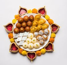 Mithai-Turned-Mishti: The Story Of Kolkata's 'Non-Bengali' Sweets Papdi Chaat, Kaju Katli, Gulab Jamun, Indian Food Recipes, Ethnic Recipes, South Indian Food, Rose Water, Kolkata, Diwali