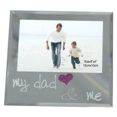 Dekoračný fotorámček pre otcov Dad N Me, Dads, Polaroid Film, Fathers