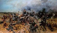 Cuneo, Terence (b,1907)- Last Moments of 5th Battery, Gibraltar