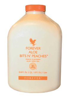 All the benefits of Aloe Vera Gel Solid chunks of pure aloe vera Refreshing, fruity taste – just like pure peach juice Ideal for children