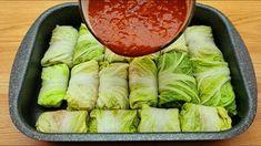Mleté mäso LEN zabalím do čínskej kapust a dám piecť: Zabudnite na obyčajné holúbky, toto je najväčšia DOBROTA, aká môže byť! Apple Cake Recipes, Fruit Recipes, Vegetable Recipes, Cooking Recipes, Chipotle Rice, Good Food, Yummy Food, Carne Picada, Hungarian Recipes