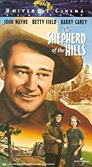 John Wayne, Harry Carey, and Betty Field in The Shepherd of the Hills (1941)