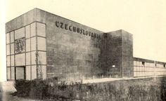 Czechoslovak pavilion at the World's Fair (A Century of Progress), Kamil Roškot, Chicago 1933