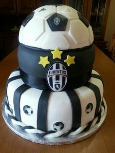 #cake #juventus #bday #birthday #football #tortaapiani