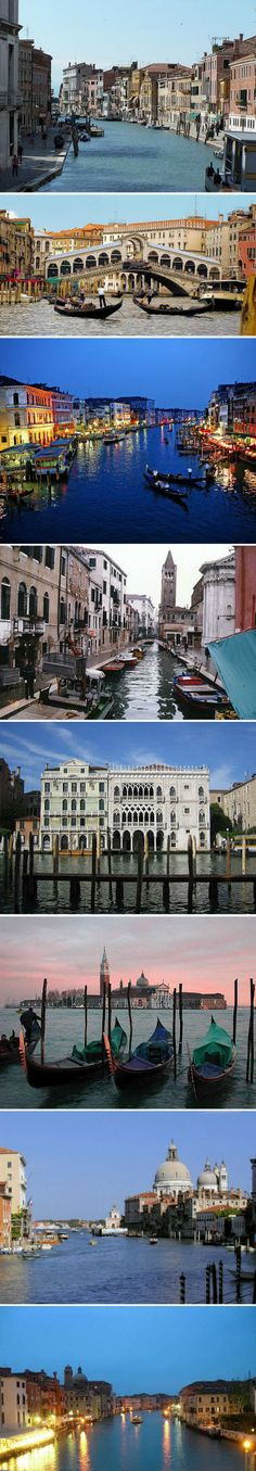 Romantic dream place for honeymoon Venice