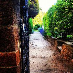Entrance to the love garden at Château La Napoule