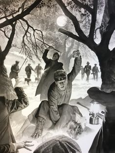 Universal's Monster Universe might sound like a pretty bizarre (and public domain) alternative to the Marvel and DC cinematic universes, but if it looks anything like these prints Alex Ross made for the series reboot, it could be fantastic.
