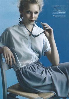 """Charlotte Bonde """"Astrid Alhambra Earrings"""" in Damernas Värld magazine"""