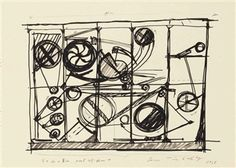 2 Works: Variations By Jean Tinguely ,1968