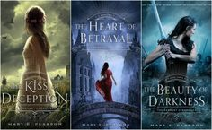 The Remnant Chronicles by Mary E Pearson.  Really enjoyed these!