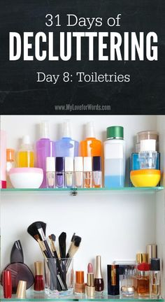 31 Days of Decluttering day 8