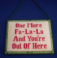 Holiday Hanging Sign