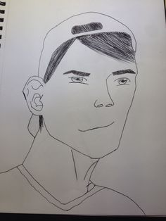 Zeichnung eines Jungen