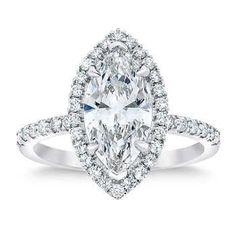 marquise | Costco Platinum Diamond Rings, Diamond Jewelry, Diamond Supply, Diamond Ring Settings, Marquise Cut, Quality Diamonds, Halo Rings, Diamond Clarity, Diamond Shapes
