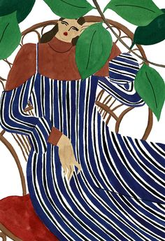 It was the exaggerated proportions of the female figure that first drew me to one of Isabelle Feliu's illustrations. Then after exploring the Oslo based artists' work further, I was enamored - strong, diverse and confident women donning Gucci, Monse, Vivetta, Marni and Dolce & Gabbana in the