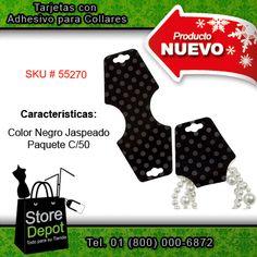 Para los negocios y comercios de #joyería y #bisutería, #StoreDepot trae estas nuevas tarjetas con adhesivo.