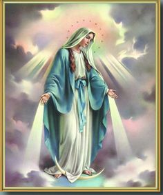 Our Lady of Grace Normandy. Our Lady of Grace is one of the most ancient maritime chapels of Normandy. Jesus Mother, Blessed Mother Mary, Blessed Virgin Mary, Catholic Pictures, Jesus Pictures, Pictures Of Mary, Catholic Art, Religious Art, Catholic News