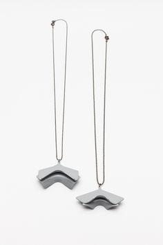 Unlimited Collection / 2015 Edition / light gray necklace  Photo: Tamás Sándor Kovács Arrow Necklace, Gray, Collection, Jewelry, Decor, Jewlery, Decoration, Jewerly, Grey