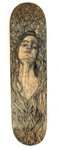 The use of the full board and the pencil hand drawn apperance makes this board extremely sucessful. The shading is elegant and sophisticated, creating an overall strong and well done board.