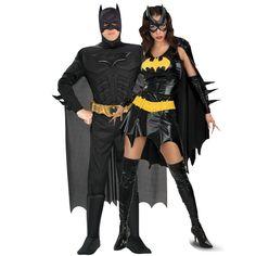 Sexy Batgirl  Batman Couples Costumes