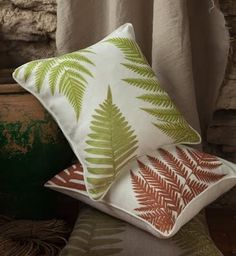 We love our new range of printed cushions - a great botanical look and a great decorative statement! Available to buy from The Estate Yard.