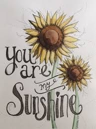 Image result for calligraphy sunflower