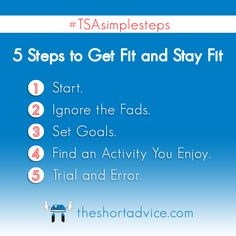Get Fit And Stay
