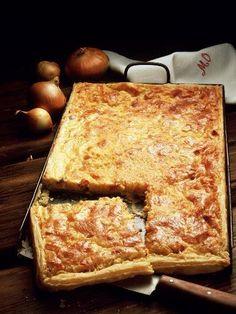 Recette Tarte oignon comté, notre recette Tarte oignon comté - aufeminin.com