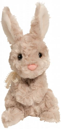"""Douglas """"Aspen the Taupe Bunny"""" plush"""