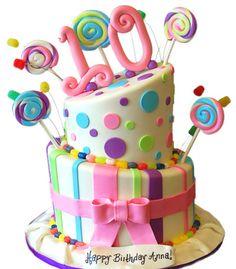 Cakes Among Teenage Girls Is The Birthday Topsy Turvy Cake We