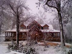 Wonderful Log Cabin home