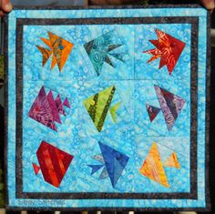 Free Fish Quilt Patterns | Stray Stitches: August 2012